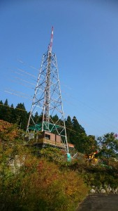 岐阜県関市板取 現場 鉄塔建設工事 送電線