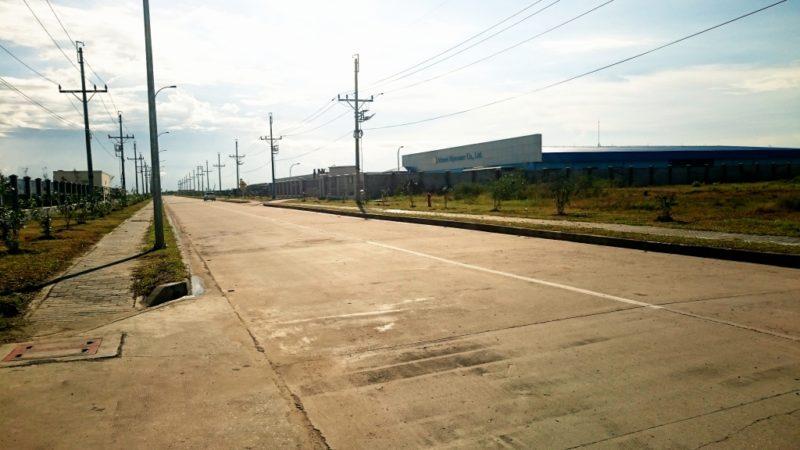 ミャンマー 視察  ティラワ工業団地内道路 架空送電線工事 新設工事 経済特別区 開発 ヤンゴン