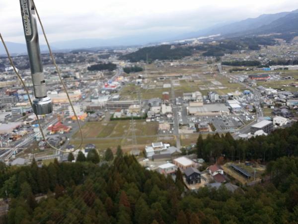 鉄塔から見た風景