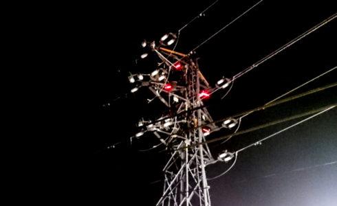 電力の安定供給を果たすため~深夜作業~
