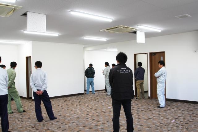 中部電気工業(株) 新社屋 引き渡し 竣工検査