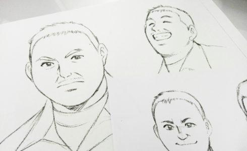 社長 似顔絵 イラスト