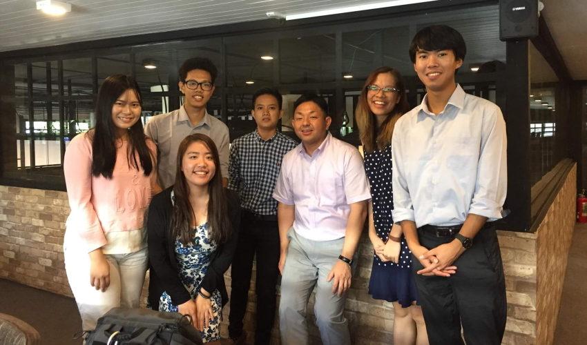ミャンマーの学生団体の皆